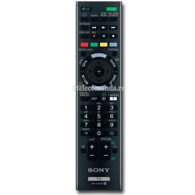 Telecomanda Sony originala RM-ED061 -etelecomanda.ro