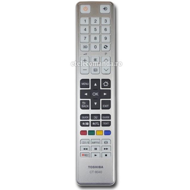 Telecomanda Toshiba CT-8040 -etelecomanda.ro