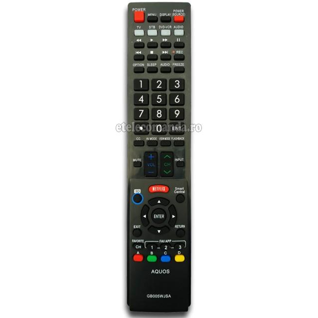 Telecomanda Sharp GB005WJSA -etelecomanda.ro