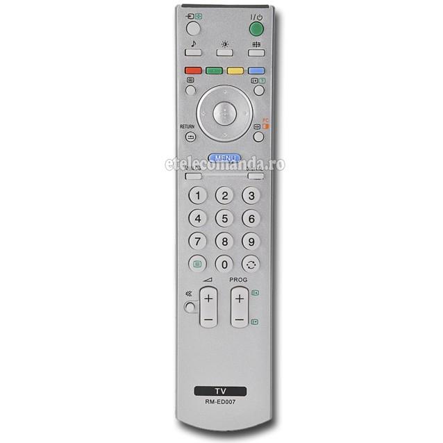 Telecomanda Sony Bravia RM-ED007 -etelecomanda.ro