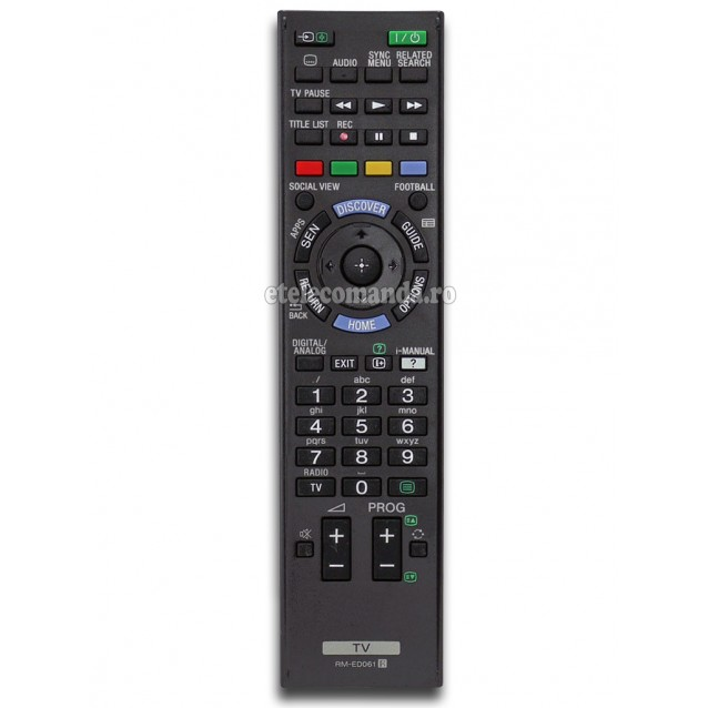 Telecomanda Sony RM-ED061 -etelecomanda.ro