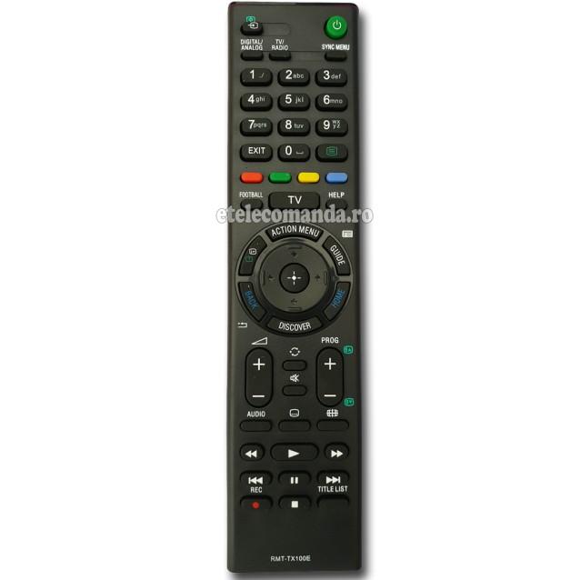 Telecomanda Sony RMT-TX100E -etelecomanda.ro