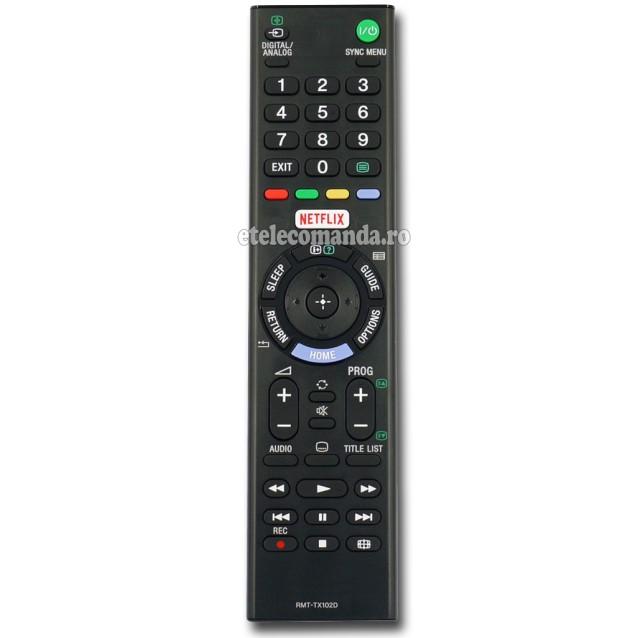Telecomanda Sony RMT-TX102D -etelecomanda.ro