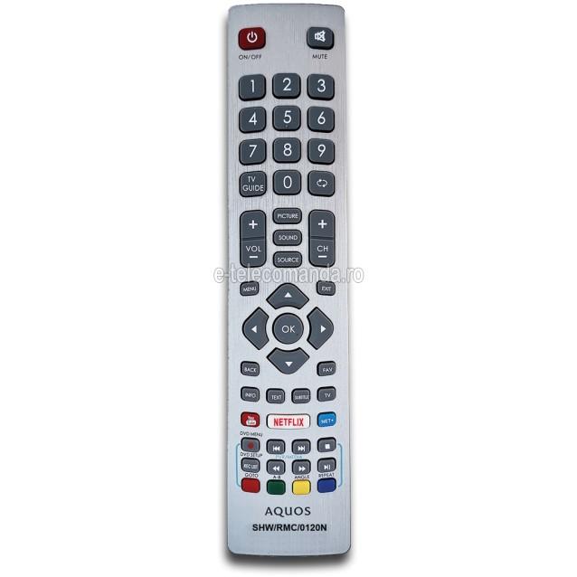 Telecomanda Sharp Aquos SHW/RMC/0120 -etelecomanda.ro