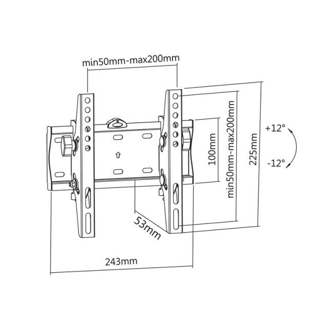 Suport universal pentru LED TV 23-42 INCH -etelecomanda.ro