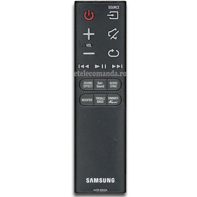 Telecomanda Soundbar Samsung AH59-02632A -etelecomanda.ro