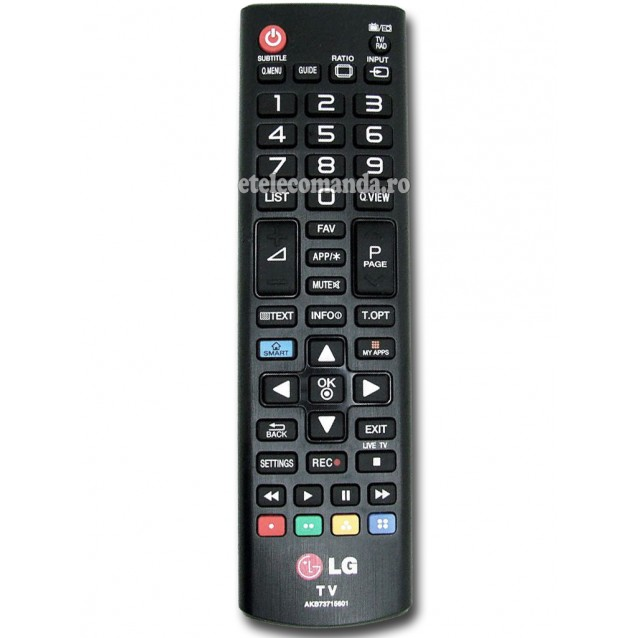 Telecomanda LG AKB73715601 Originala -etelecomanda.ro