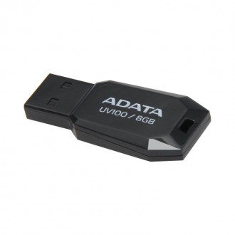 Memorie USB  8GB ADATA UV100 Black